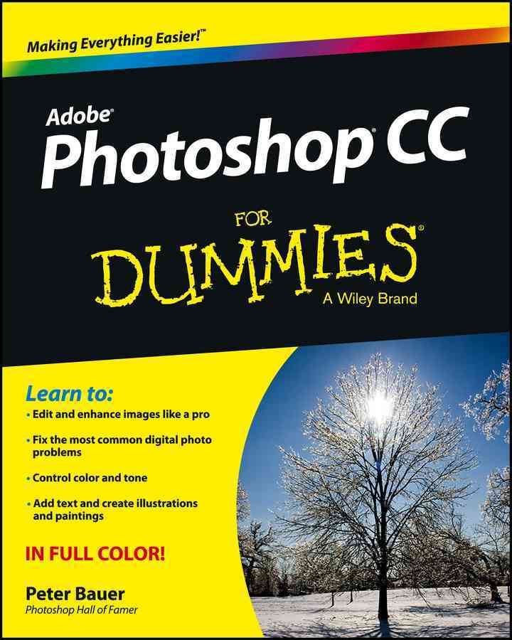 Photoshop Cc for Dummies By Bauer, Peter